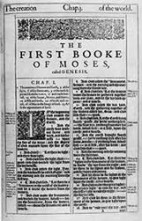 The King James Bible: 400 Years Old